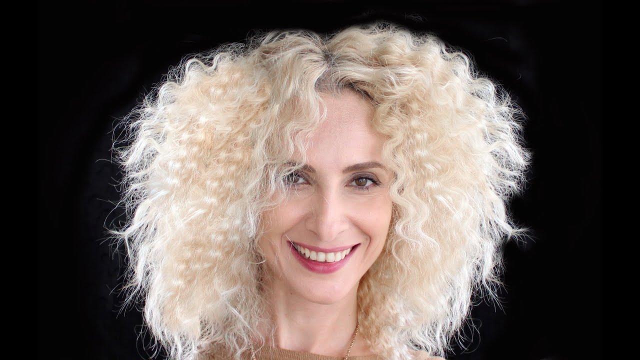 Seyrek Ve Düz Saçlı Bayanlar İçin Dalgalı Saç Nasıl Yapılır