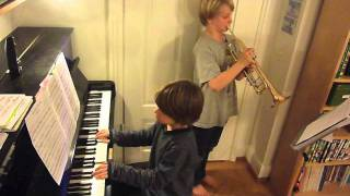 New York, New York (piano and trumpet, Klavier und Trompete)