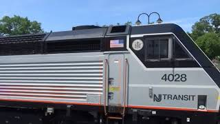 Railfanning at Maplewood, Hoboken, Harrison, & Ridgewood,NJ