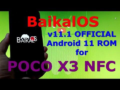 BaikalOS 11.1 OFFICIAL for Poco X3 NFC (Surya) Android 11