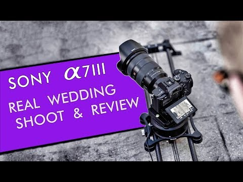 Sony a7III Real Wedding Shoot and Review