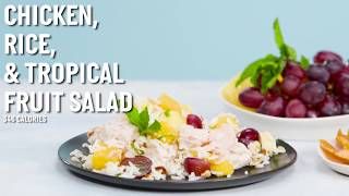 Tropical Chicken and Rice Salad | Cooking Light