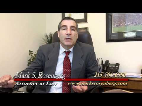 Mark Rosenberg Slip & Fall Attorney Philadelphia.mov
