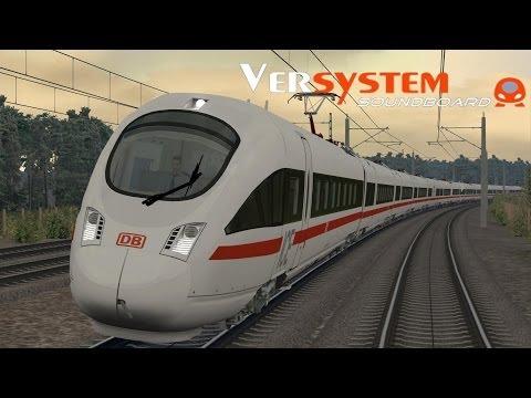 LET`S PLAY Train Simulator 2014 / ICE-T mit Versystem Soundboard und 280 km/h nach München