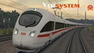 LET`S PLAY Train Simulator 2014 / ICE-T mit Versystem Soundboard und 280 km/h nach München