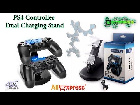 Двойное зарядное устройство для джойстиков Sony PlayStation 4 (4K)