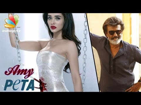 Amy Jackson Poses for PETA | Hot Tamil Cinema News | Rajini's 2.0