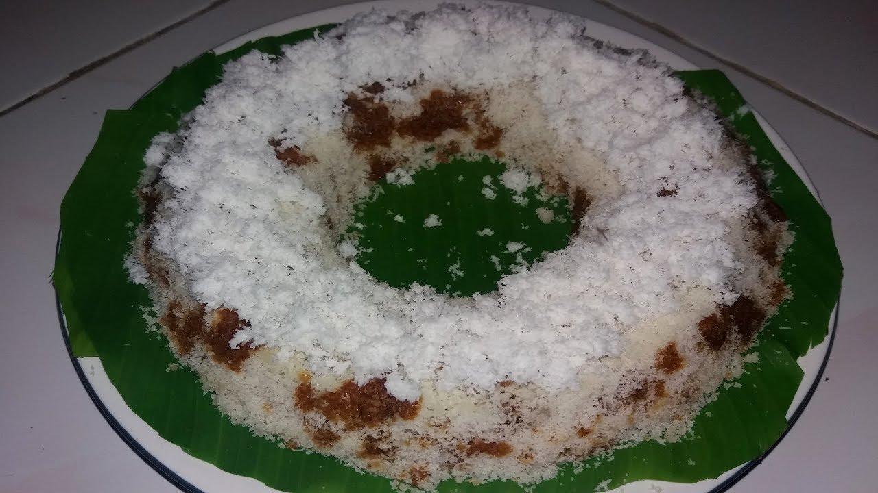 Cara Membuat Kue Tradisional Kue Awug Tepung Beras Enak Youtube