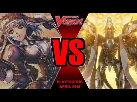 Battle Sisters Vs Wings Of Gyze - Cardfight Vanguard Playtesting April 2018