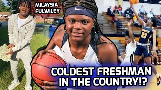 Milaysia Fulwiley Is COLD BLOODED! Scored 1,000 POINTS As a FRESHMAN! Official Season Mix ❄️