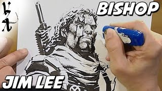 Jim Lee drawing Bishop
