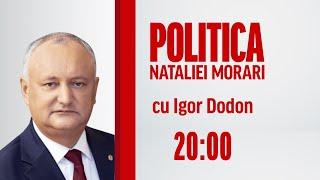 🔴 LIVE: Igor Dodon, La Politica Nataliei Morari / 03.02.2021