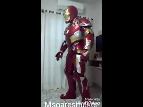 Cosplay Ironman Mark46 by Msoaresmaker