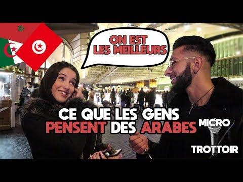 Ce que les gens pensent des Arabes / Maghrébin (ft Deguem Pro) - Micro Trottoir - La MeuteTV