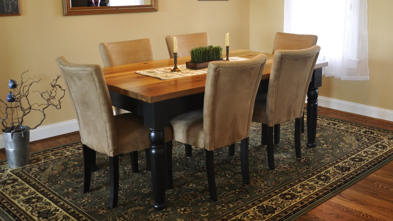 How To Taper Table Legs