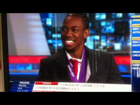 Yohan Blake Sky Sports interview