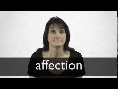 Affection definition and meaning | Collins English Dictionary