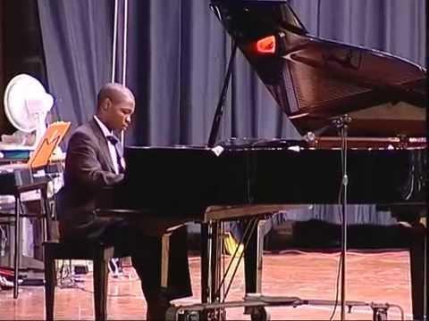 Belle School of Music student Alex Smith Jr. plays