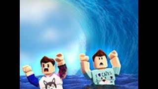 [로블록스(Roblox)] 쓰나미가 몰려와요! 피해요!(Tsunami Survival) 간단 리뷰 & 플레이 영상
