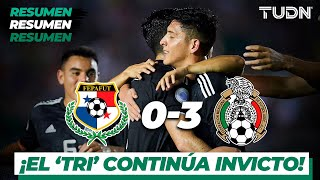 Resumen y Goles | Panama 0 - 3 Mexico | CONCACAF Nations League - J 5 | TUDN