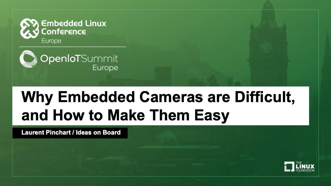 Libcamera Aims to Make Embedded Cameras Easier | Linux com | The