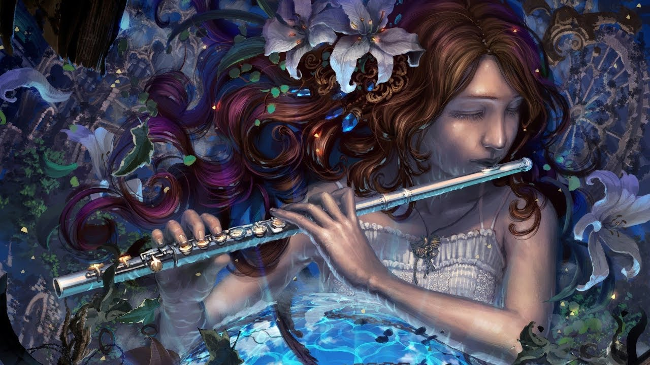 волшебство музыки картинка там
