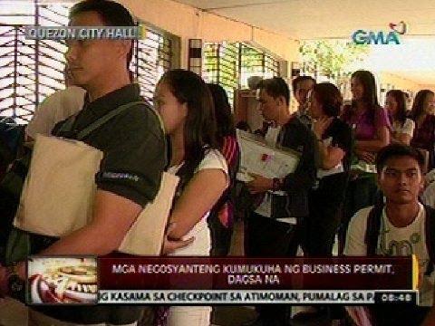 24 Oras: Mga negosyanteng kumukuha ng business permit, dagsa na