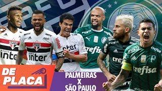 SÃO PAULO X PALMEIRAS: QUEM é MELHOR? - Mano a mano