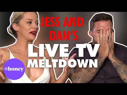 Jess and Dan's tense on-air exchange | Talking Married