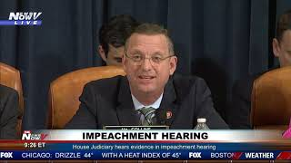 THEY HATE TRUMP: Doug Collins RIPS Democrats Over Impeachment of President Trump