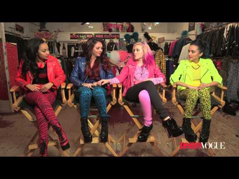 Little Mix on Their Back-to-School Style