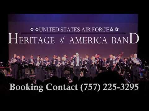 USAF Heritage Of America Band PROMOTIONAL VIDEO 2018