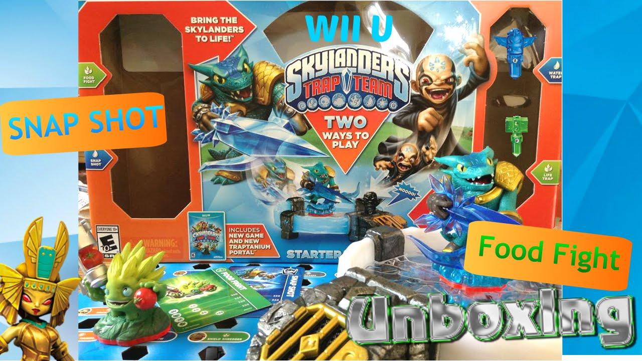Skylanders Trap Team Starter Pack Wii U Unboxing - YouTube