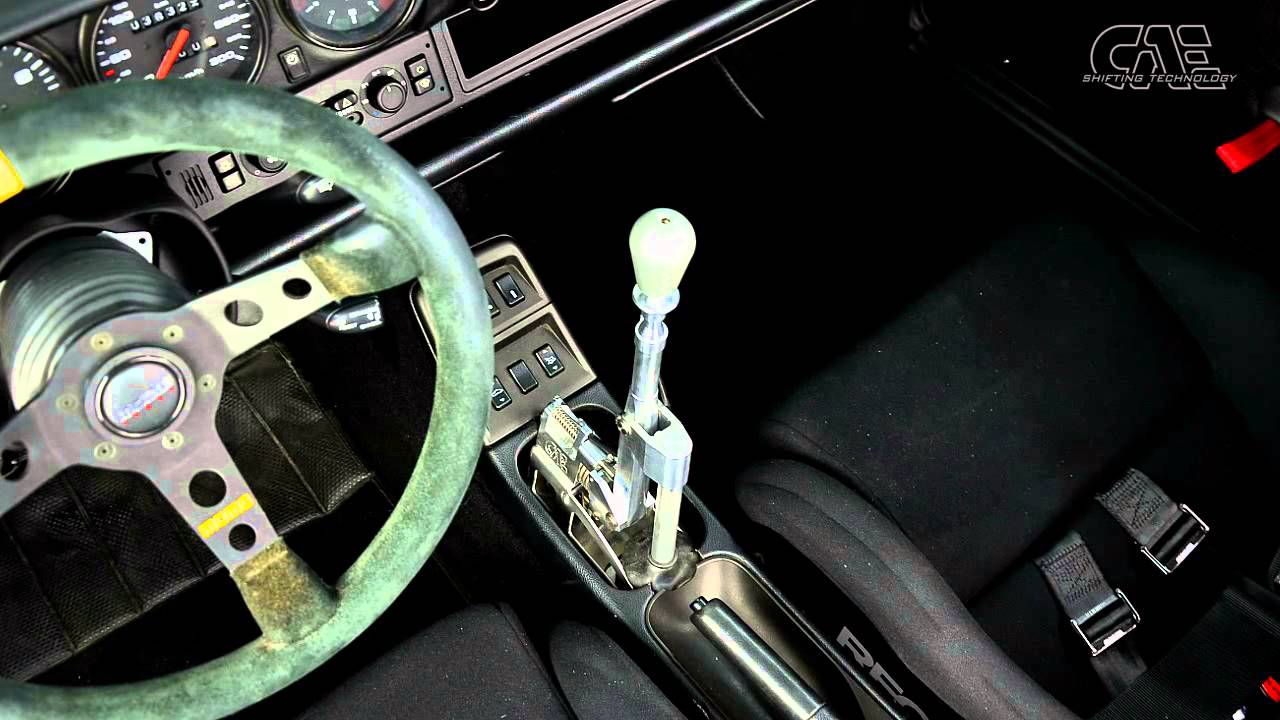 PORSCHE 993 C2 ( 911 ) with CAE Ultra Shifter - by CAE RACING
