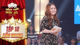 Thách thức danh hài 4| tập 12: Trấn Thành phì cười với cô MC gây hoang mang cho cả hai giám khảo