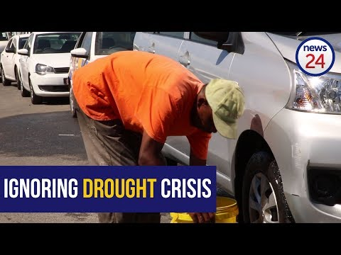 WATCH: Cape Town law enforcement faces resistance from water-wasting car washes