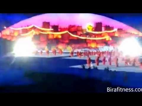 Opening ceremony rehearsal Olimpic Games Rio 2016