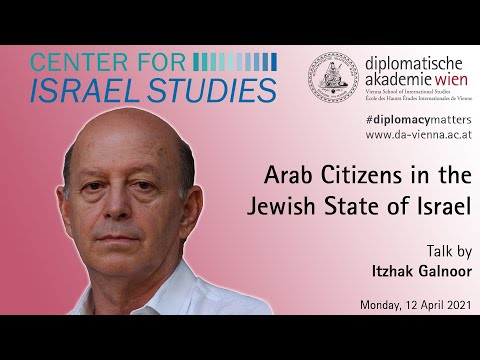 Arab Citizens in the Jewish State of Israel