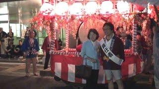 自民党の逢沢一郎先生に御挨拶した後、岡山神社の秋季大祭に参拝しました