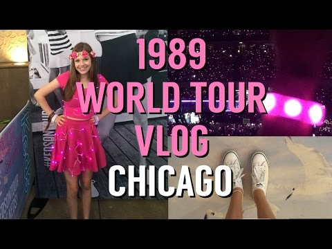 Taylor Swift 1989 World Tour Vlog - Chicago Night 1
