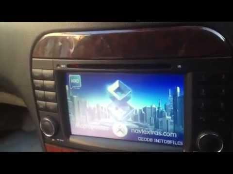 Mercedes S Class W220 Navigation - Sat Nav - Command system UPGRADE 2013