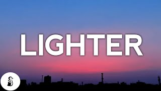 Nathan Dawe - Lighter (Acoustic) ft. KSI & Ella Henderson (Lyrics)