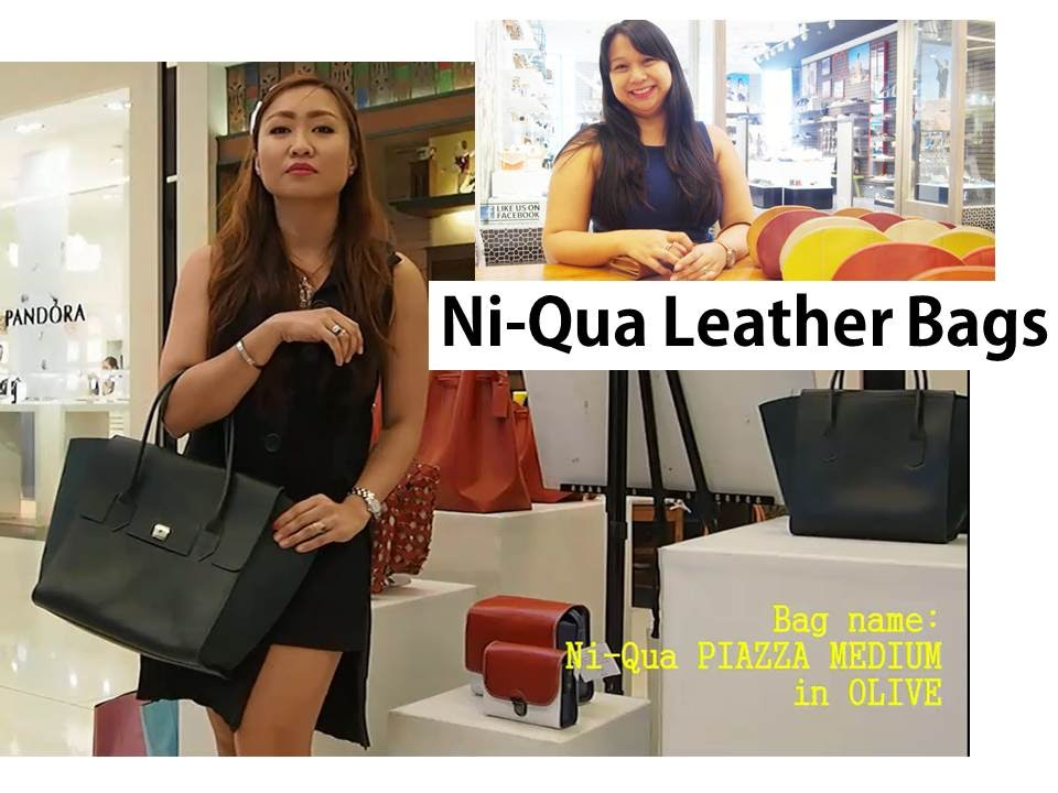 Where to buy leather bags in the Philippines: Ni-Qua - YouTube