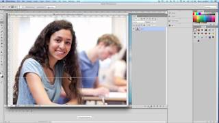 Photoshop-Tutorial 1, cut and paste images, layers