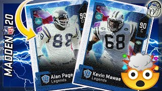 LEGENDS ALAN PAGE & KEVIN MAWAE COMING TO MADDEN 20 ULTIMATE TEAM | Madden 20 Ultimate Team