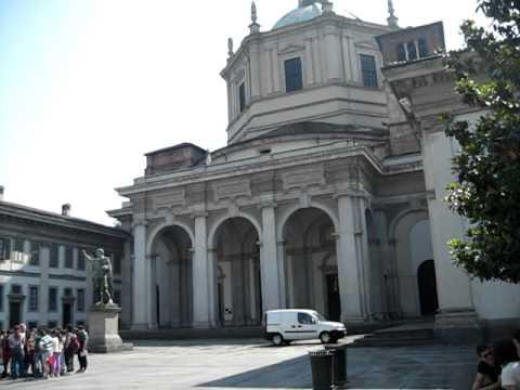 Roman Columns and Medieval Walls, Church of San Lorenzo, Milan