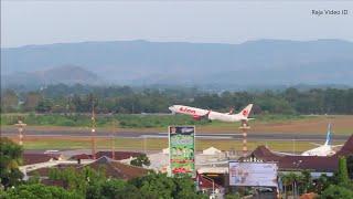 Take Off Lion Air, Nam Air, Batik Air, Air Asia, Citilink dan Garuda Indonesia di Bandara Adisucipto