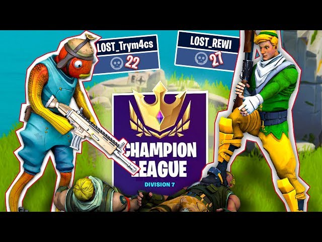 In 3 TAGEN Champions RANG in FORTNITE mit TRYMACS! Road to Champion!