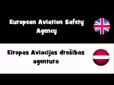 TRANSLATE IN 20 LANGUAGES = European Aviation Safety Agency