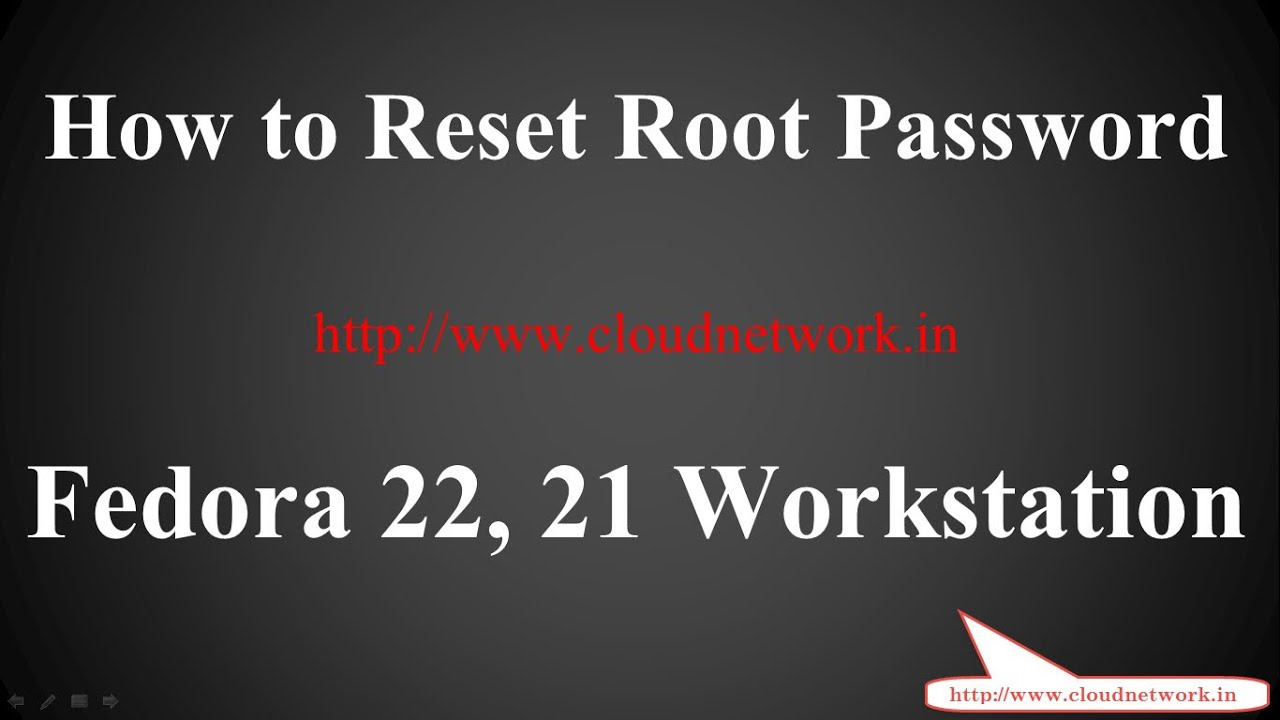 How to Reset Root Password in Fedora Workstation 24 - 21